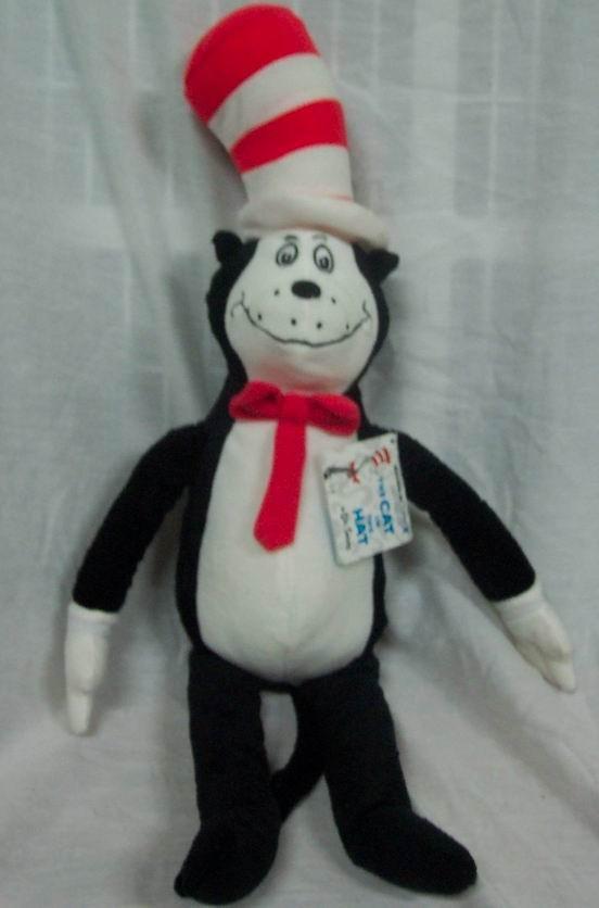 Kohls Dr Seuss Cat In The Hat 21 Plush Stuffed Animal Toy New