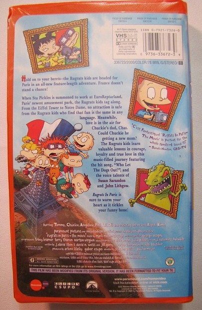 Images of Nickelodeon Movies Vhs - #rock-cafe