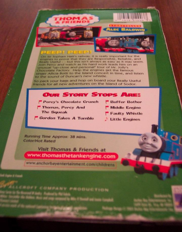 THOMAS THE TANK ENGINE & FRIENDS Percy's Chocolate Crunch ...
