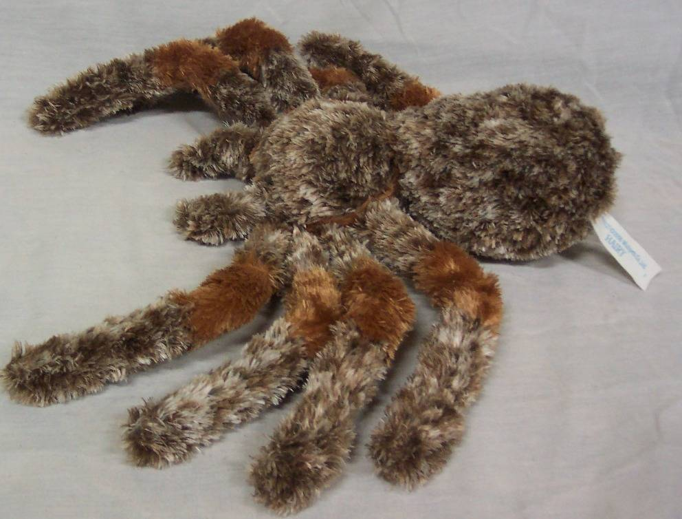 "Wishpets HAIRY THE LARGE TARANTULA SPIDER 9"" Plush STUFFED"