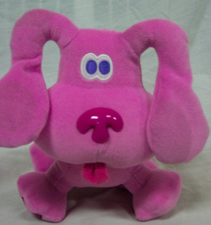 Blues Clues Green Puppy Plush Winter Blues Clues Male Magenta And