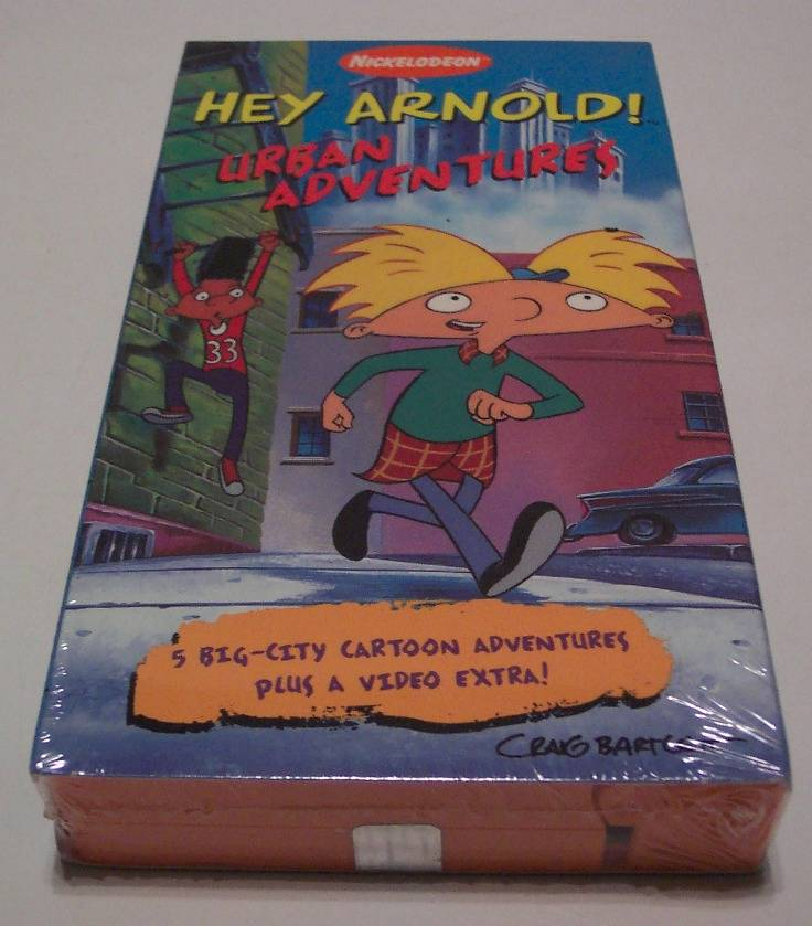 Nickelodeon HEY ARNOLD Urban Adventures VHS VIDEO NEW - Ad ...