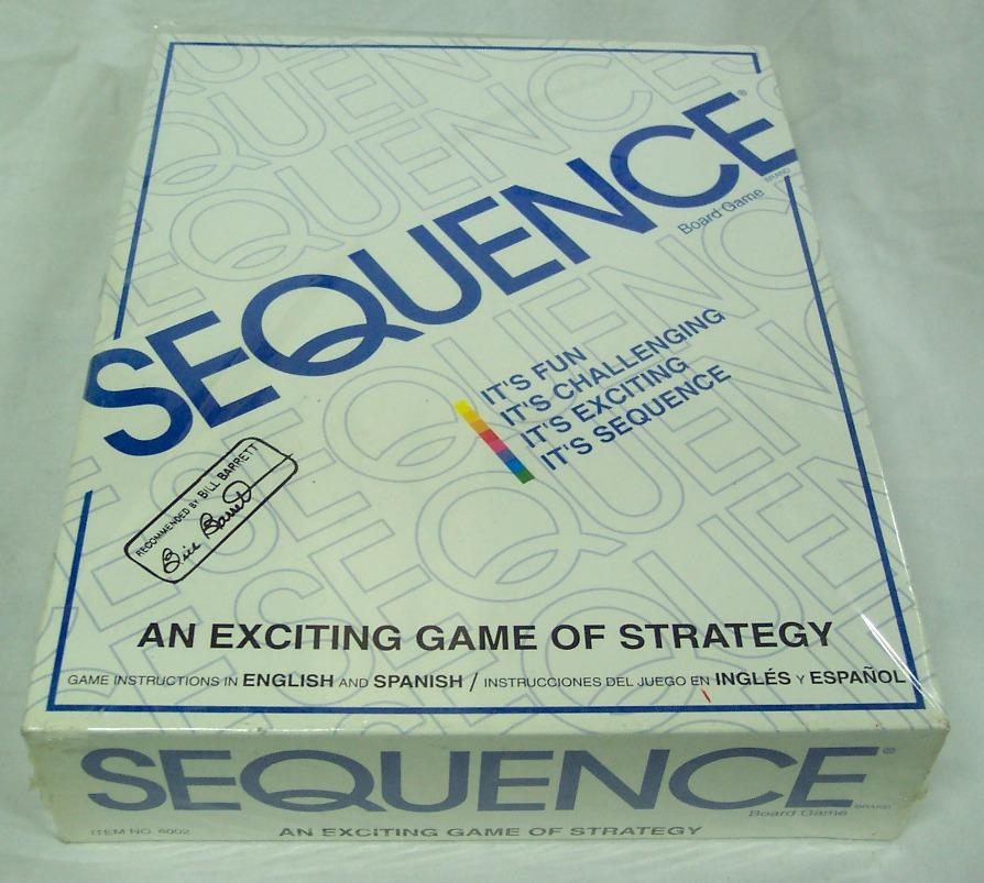 Sequence Board Game Complete An Exiting Game Of Strategy New Ebay