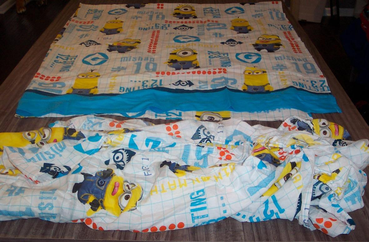Despicable Me Minions Full Size Sheet Set Fabric Ad