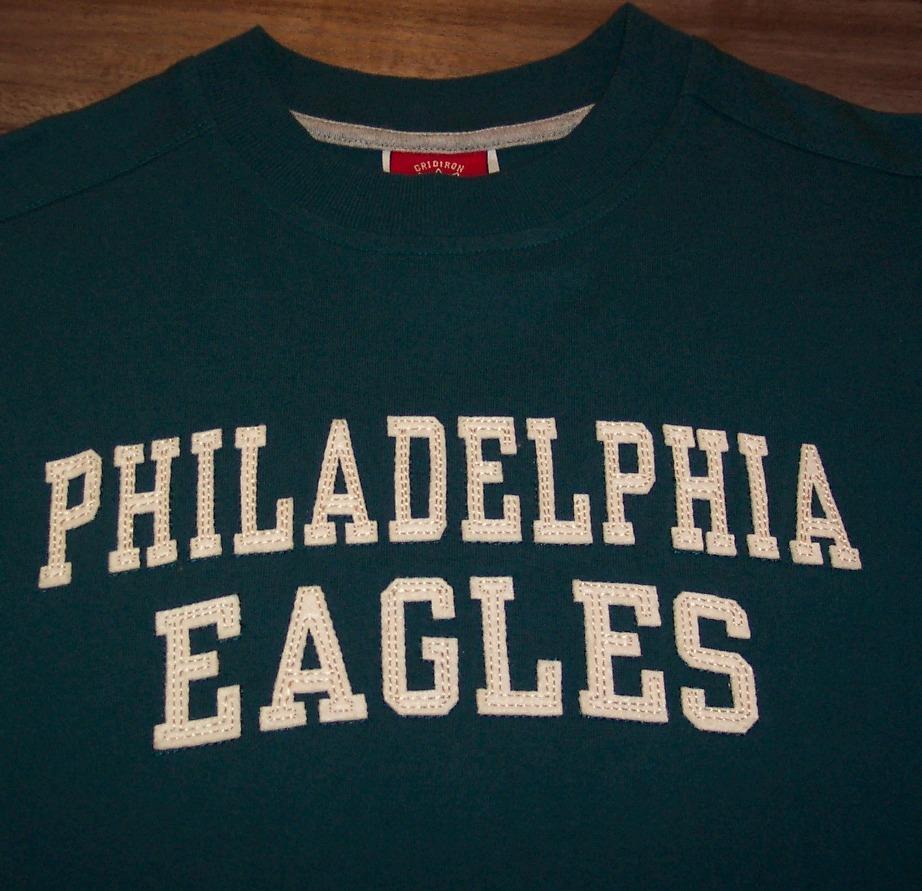 Philadelphia eagles nfl football t shirt youth medium ad