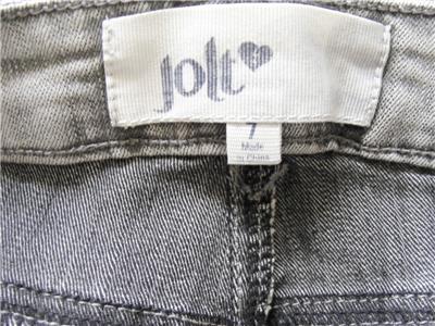 393785f439a  38 JOLT Juniors Skinny Leg Stretch Jeans Light Gray Wash Size 7 ...