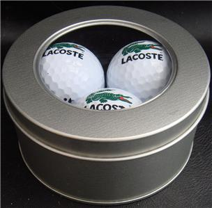 best value cheap for sale thoughts on Details about LACOSTE Golf Balls 3 Ball - Supplied in a Silver Tin - MRP  £14.99 Now Only £7.99
