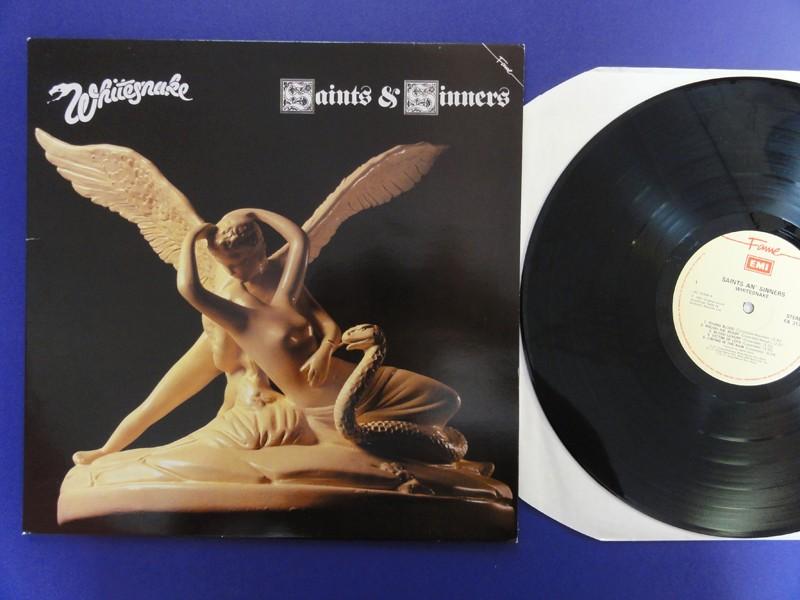Whitesnake Saints And Sinners Fame Lp Ex