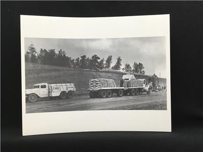 8x10 photo Antique trucks