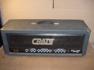 crate blue voodoo 60 model bv 60h tube amp head ebay. Black Bedroom Furniture Sets. Home Design Ideas