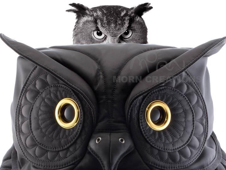 Barn Owl 3D backpack MORN CREATIONS bag laptop guardian legend ...