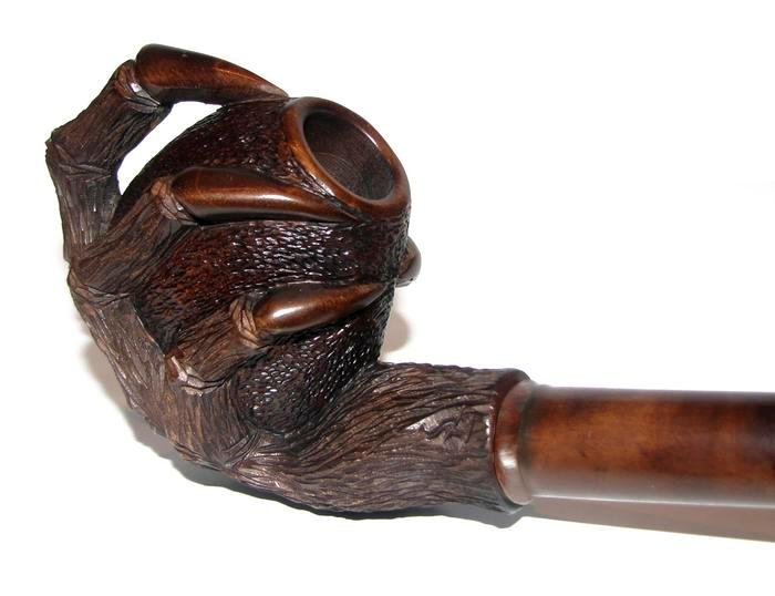 9 mm UNIQUE DIFFICULT First Class Tobacco smoking pipes Hand carved For Choice