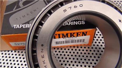 One Piece Timken 5760 Bearing 3 Inch Bore NEW in Box