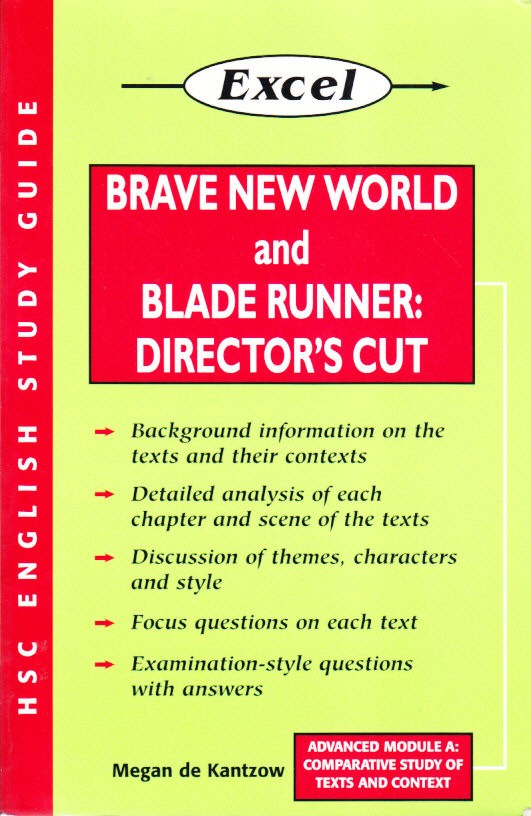 'Brave New World'(BNW) by Aldous Huxley and 'Bladerunner' (BR) by Ridley Scott Comparison