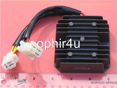 Voltage Regulator Rectifier Honda CH125 250cc 6 Wires