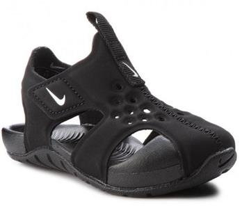 790be81d0e4127 Details about NIKE Sunray Protect 2 Black Kids Sandals Athletic Water Shoes  Toddler 943827 NEW