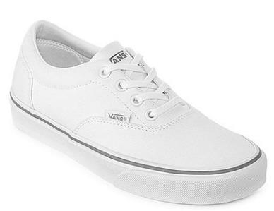 VANS Doheny White Women s Athletic Sneakers Casual Skate Shoes ... 7caa7e37e