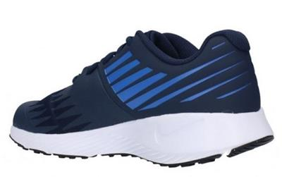 NIKE Star Runner Blue Kids Athletic Sneakers Running Shoes Youth ... 30cc70f4a