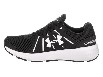 9cf8c70d5a1d Women s UNDER ARMOUR DASH 2 Black+White Athletic Running Casual ...