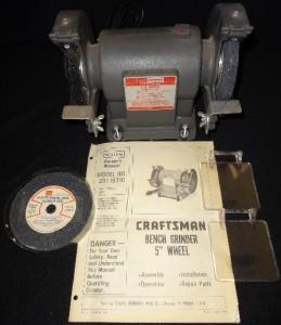Sears Craftsman Amoladora De Banco Usa 397 19310 Cepillo