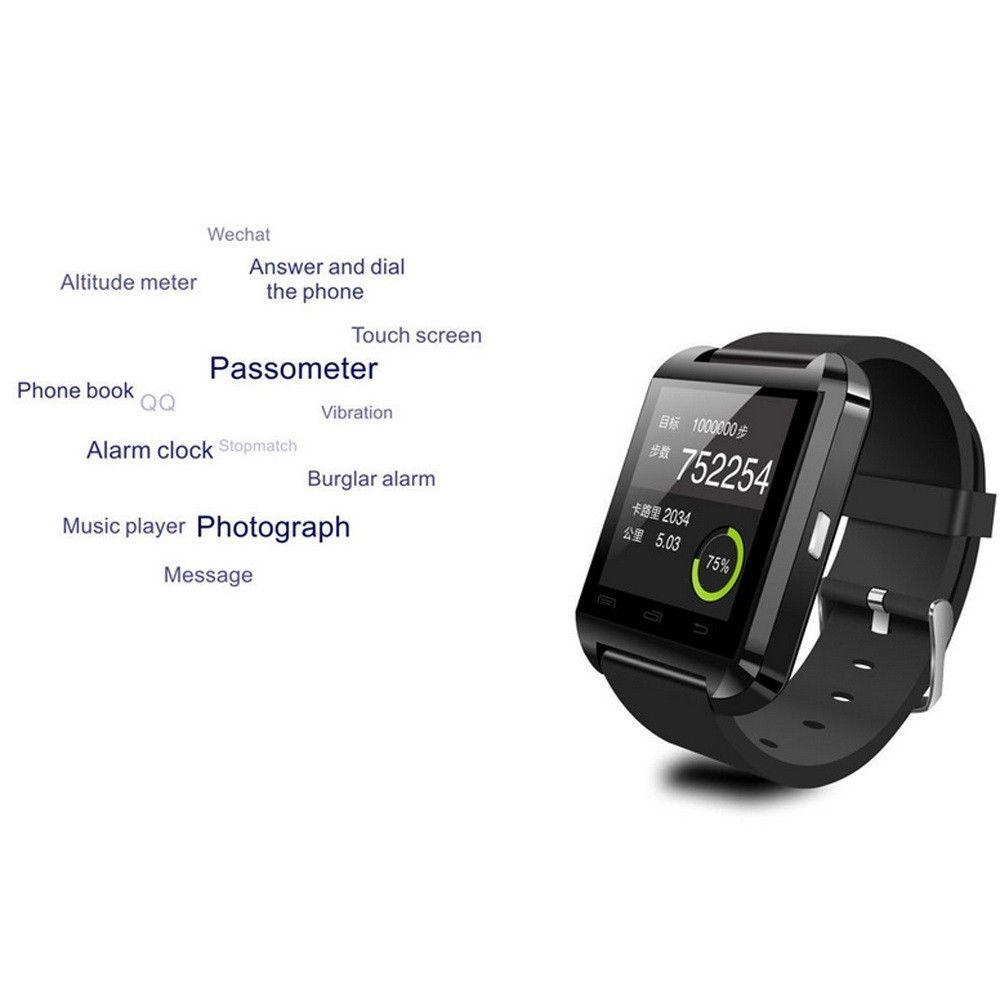 U8 Bluetooth Smart Wrist Watch Phone Mate For Android ...