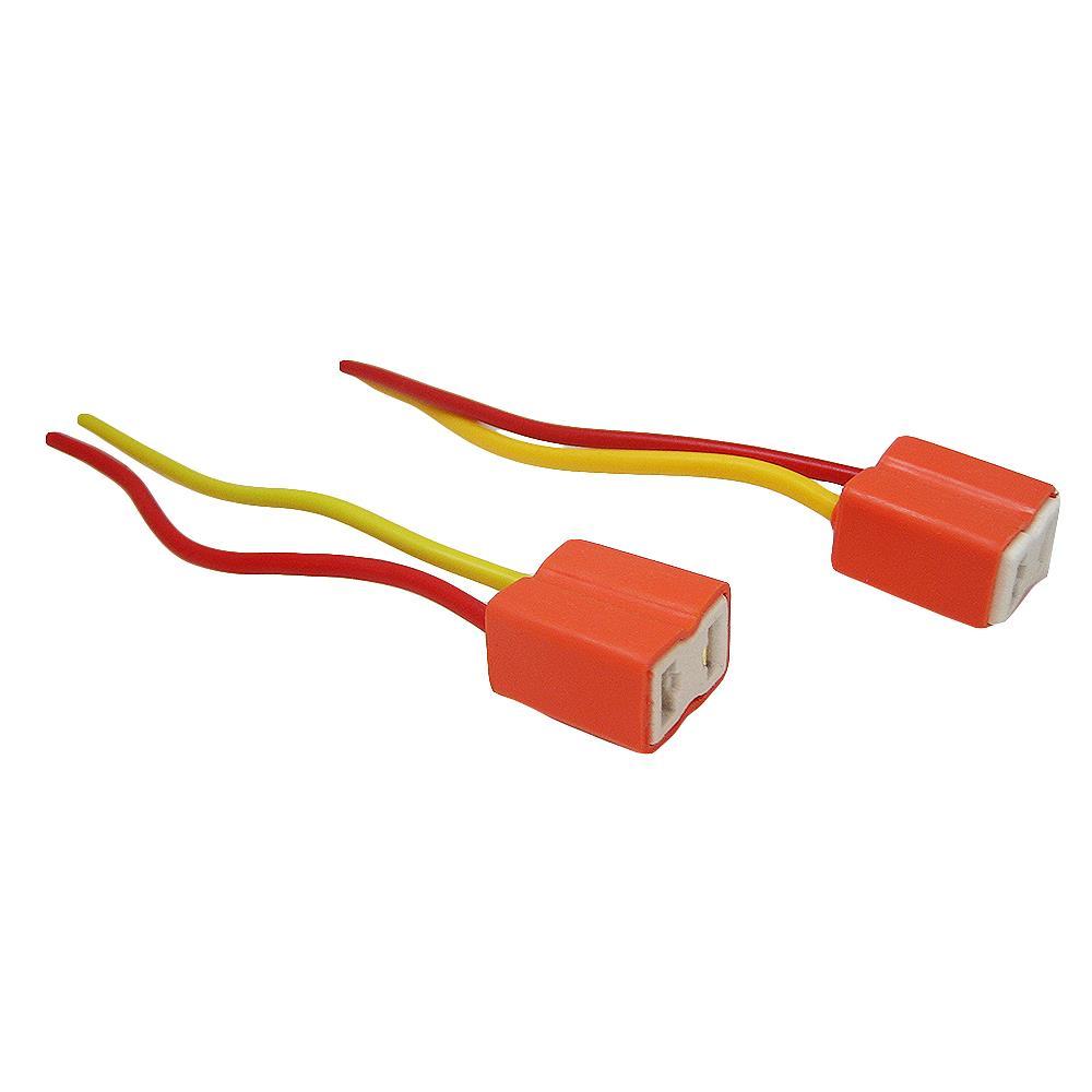 H7 Ceramic Bulb Headlight Wire Repair Plug Wiring Socket Connector