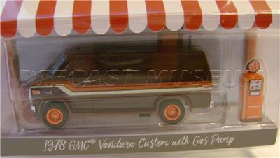Details about 1978 '78 GMC VANDURA CUSTOM VAN WITH GAS PUMP THE HOBBY SHOP  4 GREENLIGHT 2018