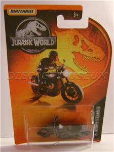 MATCHBOX Jurassic series /'15 Triumph Scrambler LOOSE // MINT 2019 issue