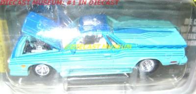 1986 86 CHEVY EL CAMINO RC HOT ROD MAGAZINE DIECAST