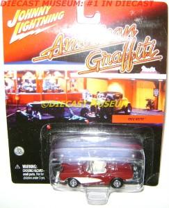 1962 62 Chevy Corvette American Graffiti Diecast RARE