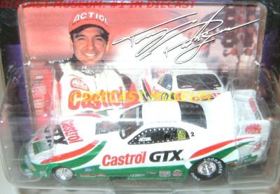 TONY PEDREGON CASTROL GTX FUNNY CAR 1997 97 FORD MUSTANG DIECAST NHRA