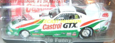 PEDREGON CASTROL GTX FUNNY CAR 1997 97 FORD MUSTANG DIECAST NHRA RARE