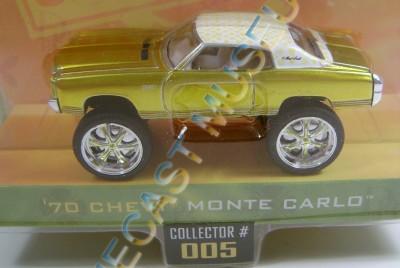 1970 '70 Chevy Chevrolet Monte Carlo Donk Box Bubble Jada Diecast 1 64 RARE