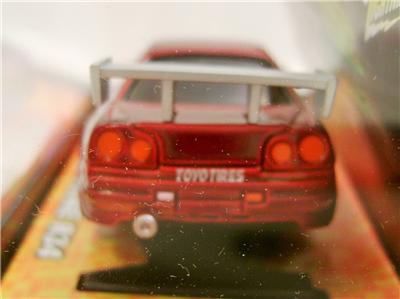 Greenlight Car Insurance >> NISSAN SKYLINE R34 FAST AND THE FURIOUS X TRACTION JOHNNY LIGHTNING HO RACER | eBay