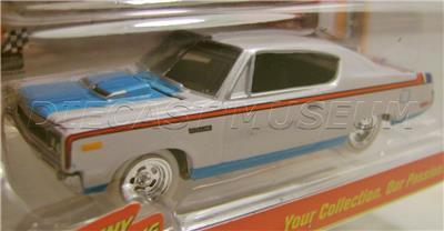 1970 /'70 AMC REBEL MACHINE WL WHITE LIGHTNING CHASE CAR JOHNNY LIGHTNING RARE