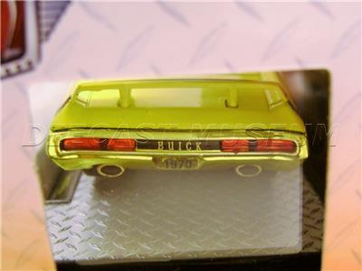 1 of 2888 M2 Machines by M2 Collectible Ground Pounders 1970 Buick GSX R16 17-01 Yellow//Black Details Like NO Other