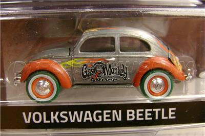 1951 51 Volkswagen Beetle Bug Flames Gas Monkey Garage Green