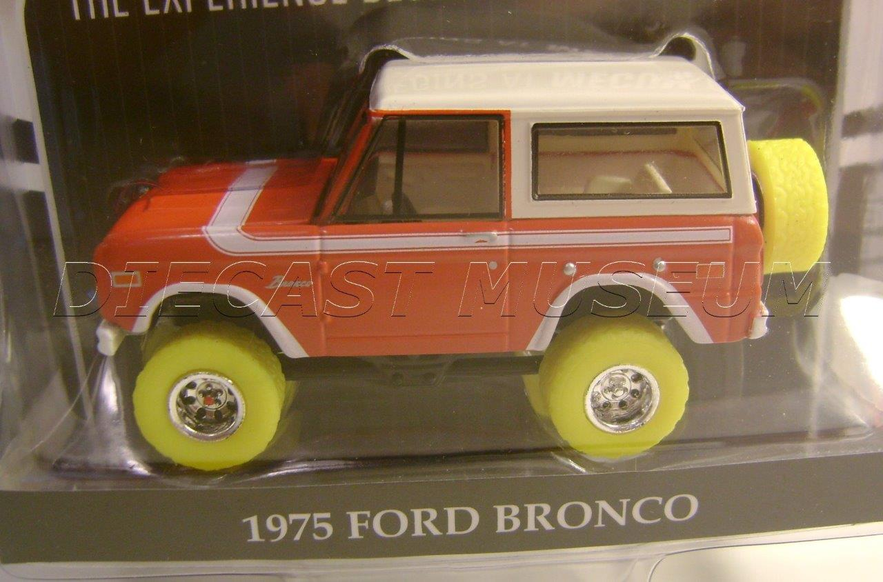 1975 75 FORD BRONCO GREEN MACHINE YELLOW CHASE CAR MECUM AUCTIONS
