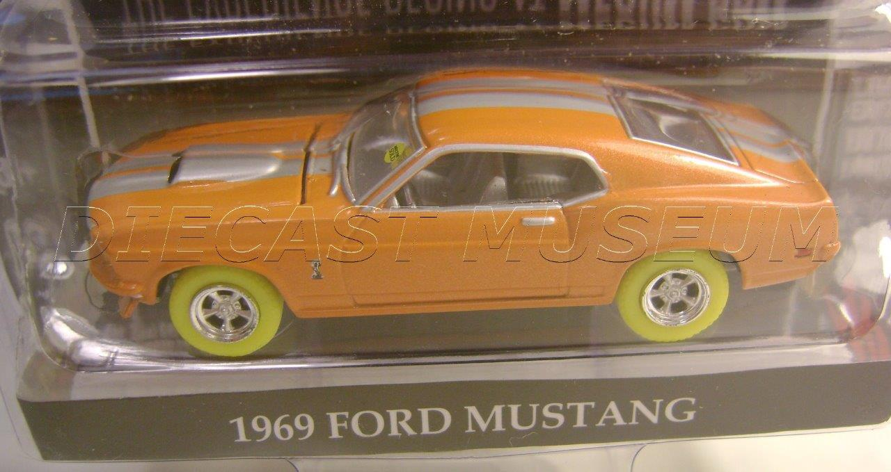 1969 \'69 FORD MUSTANG GREEN MACHINE YELLOW CHASE CAR MECUM ...