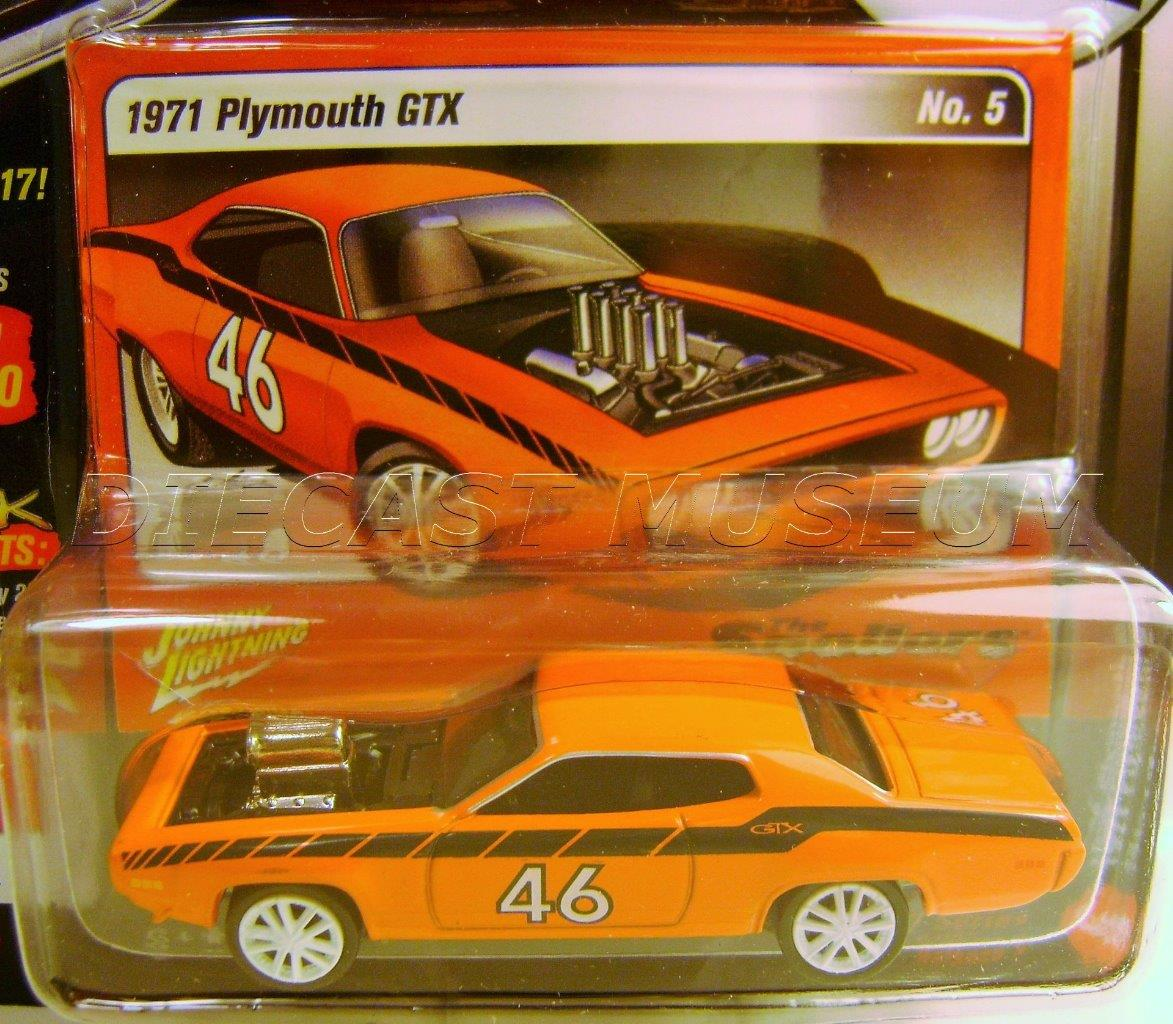 2017 Johnny Lightning *STREET FREAKS 3A* Orange 1971 Plymouth GTX *SPOILERS* NIP