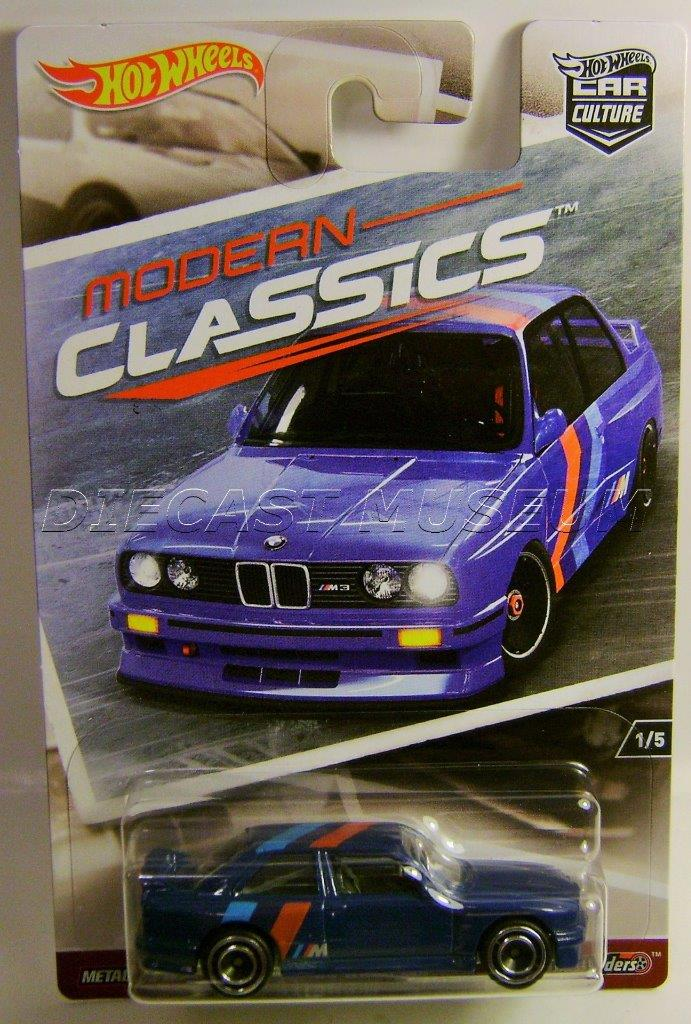 1992 92 Bmw M3 Modern Classics Rr Car Culture Hot Wheels Diecast