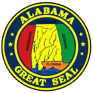 ***ALABAMA STATE SEAL VINYL DECAL / STICKER****   eBay   Alabama Highway Patrol Decal