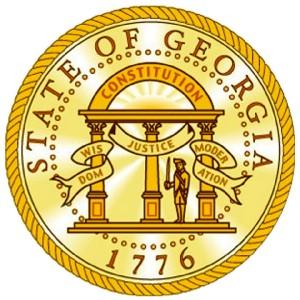 Georgia State Seal Vinyl Decal Sticker Ebay