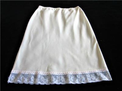 Clothing, Shoes & Accessories Gentle Christian Dior Waist Slip Lacy Bias-cut Satin Remarque S Half Slip Vintage