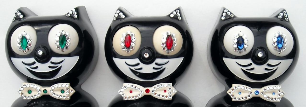 47chevys restored kit cat clocks ebay stores. Black Bedroom Furniture Sets. Home Design Ideas