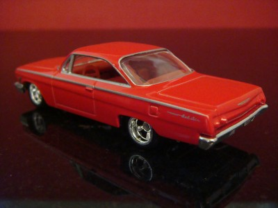 62 Chevy Bel Air 409 Bubble Top 1/64 LIMITED EDITION