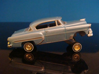 53 Chevy Bel Air Custom Lowrider 1/64 Scale Limited Edt