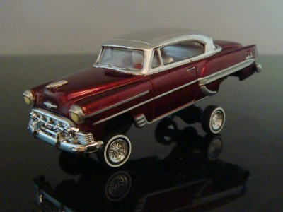53 Chevy Bel Air Custom Lowrider 1/64 Scale Limited Edition 10