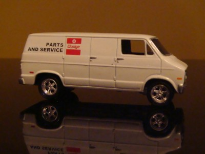 Dodge RAM Van Mopar Parts Service Van 1 64 Scale Edition 3 Detailed