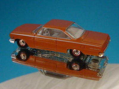 62 Chevy Bel Air 409 Bubble Top 1 64 Scale Limited Edit 4 Detaied